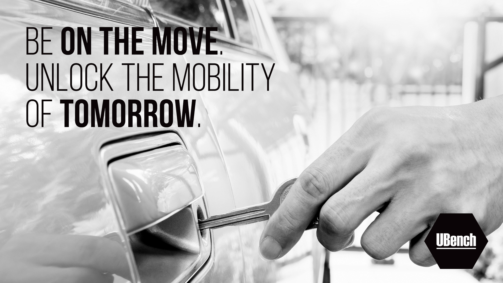 Be on the move. Unlock the mobility of tomorrow.